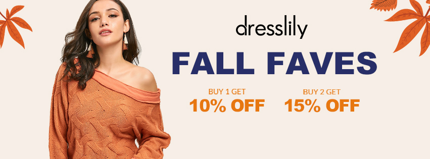 Fall Faves Sale promotion