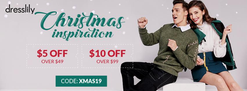 Christmas Inspiration promotion