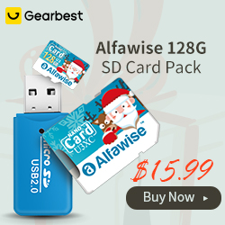 Gearbest Global Launch: Alfawise Christmas Fun Edition Micro SD TF Card promotion