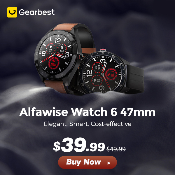 Gearbest Alfawise Watch 6:Low As $39.99 promotion