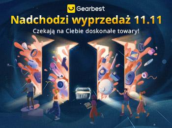 Gearbest Wyprzedaż 11.11 na Gearbest promotion