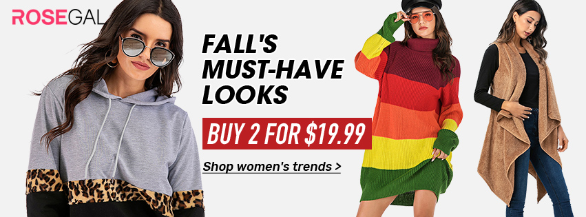 Fall's Must-have Looks promotion