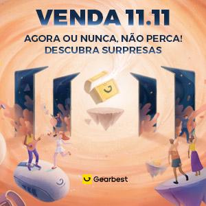 Gearbest Venda 11.11: AGORA OU NUNCA, NÃO PERCA promotion