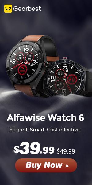 Gearbest Relógio de Alfawise: Desconto até $39.99 promotion