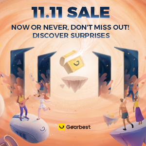 Gearbest 11.11 Crazy Sale:Win $11111 promotion