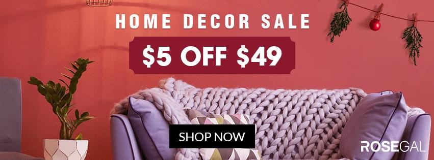Home Decor Sale promotion