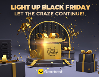Gearbest Warm-up of Black Friday 2019 promotion