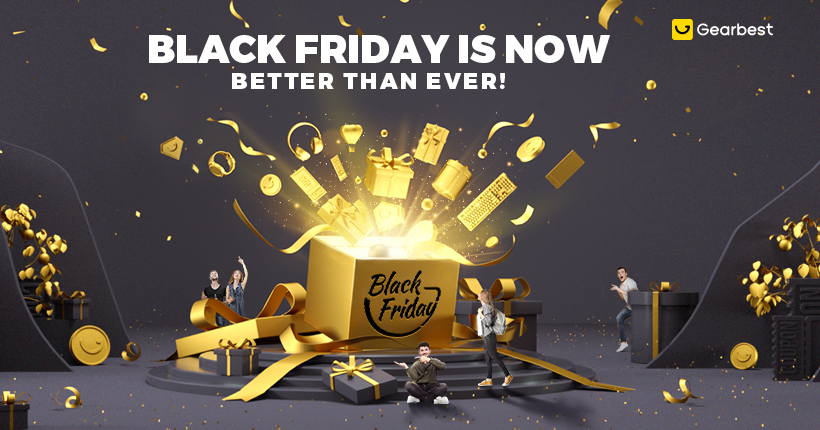 Gearbest Black Friday Is Now, Better Than Ever! promotion