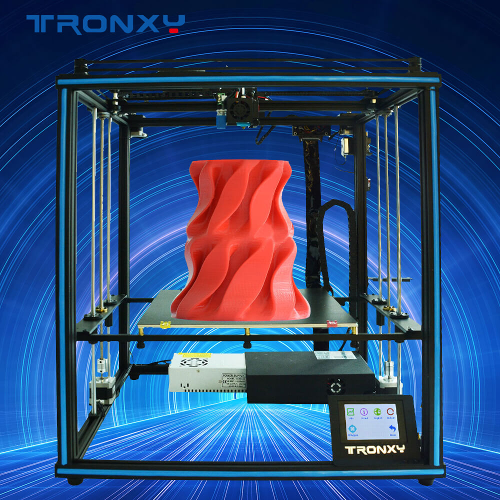 Gearbest Tronxy Factory Price Desktop Educational Home Use X5SA Industrial Core XYZ 3D Printer - X5SA 24v CN promotion