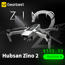 Gearbest Hubsan Zino 2 GPS 5G WiFi 6KM FPV with 4K UHD Camera 3-Axis Gimbal RC Drone Quadcopter RTF promotion