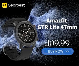 Gearbest Amazfit GTR Lite promotion