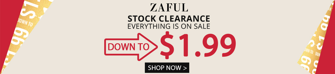 Stock Clearance promotion