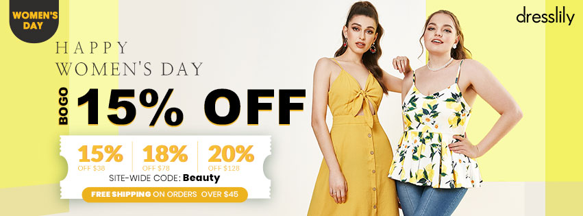 Womens Day Special Sale promotion