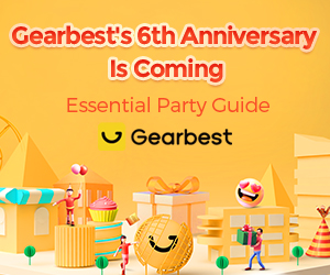 Gearbest Gearbest's 6th Anniversary Is Coming promotion
