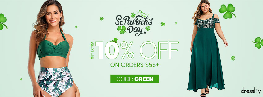 Patricks Day promotion