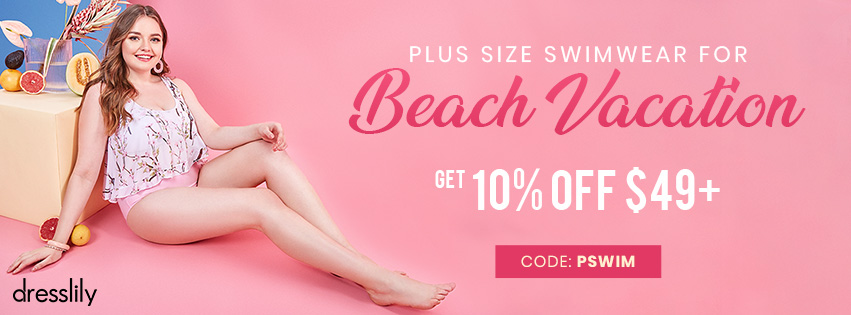 Plus Size Swimwear For Beach Vacation promotion