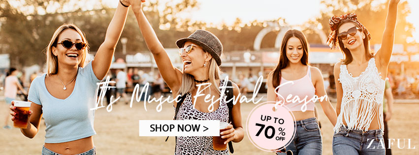 Music Festival Season Sale promotion