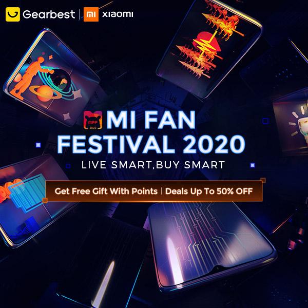 Gearbest Miファンフェスティバル2020プロモーション