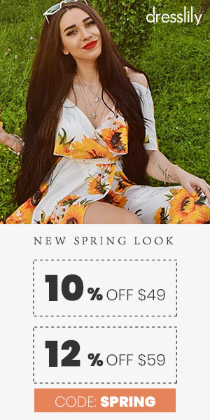 NEW SPRING LOOK promotion