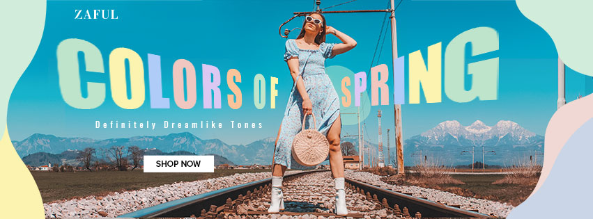 Catch Colors of Spring promotion