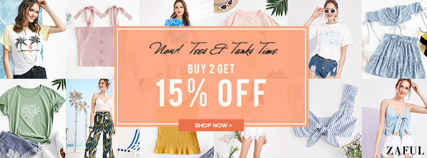 Tees & Tanks Deal promotion