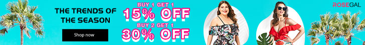 Swimwear Sale-Buy 1 Get 15% Off; Buy 2 Get 30% Off promotion