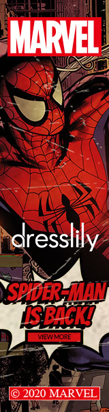 dresslily Spider Man Launching - Hot Summer, Hot Marvel promotion