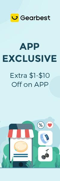 Gearbest APP Exclusive Price promotion