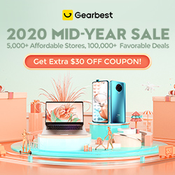 Gearbest mid-year sale promotion