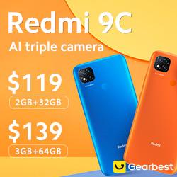 Gearbest Xiaomi Redmi 9C promotion