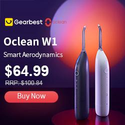 Gearbest Oclean W1 promotion