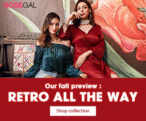Plus Size Retro Collection promotion