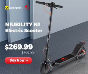 Gearbest Niubility N1 promotion