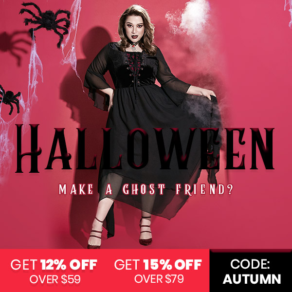 dresslily Halloween  Dark day Sale promotion