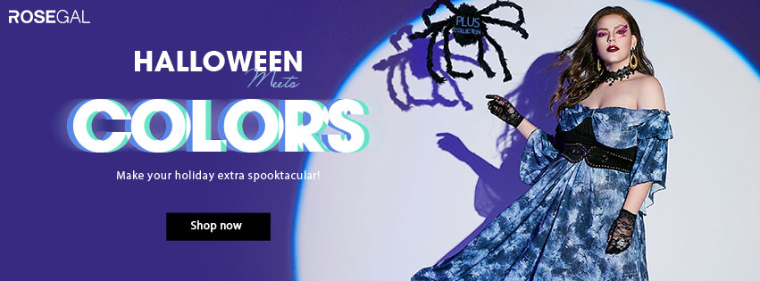 Halloween Meets Colors promotion