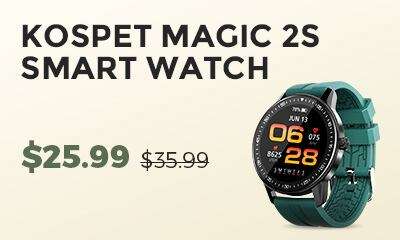 Gearbest Kospet Magic 2s promotion