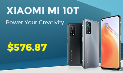 Gearbest Xiaomi Mi 10T New Mobile Phone for 5G Smartphone promotion