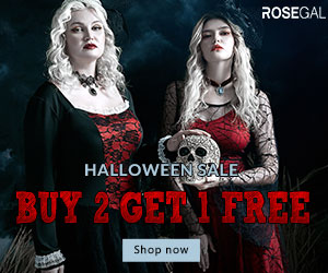 Halloween Sale-buy 2 get 1 free promotion