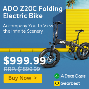 Gearbest ADO Z20C Electric Bikes promotion