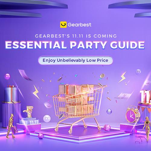 Gearbest GEARBEST'S 11.11 Shopping Guide--- Enjoy Unbelievably Low Price promotion