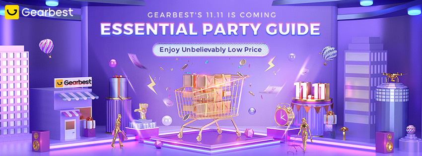 Gearbest GEARBEST'S 11.11 Shopping Guide--- Enjoy Unbelievably Low Price promotion