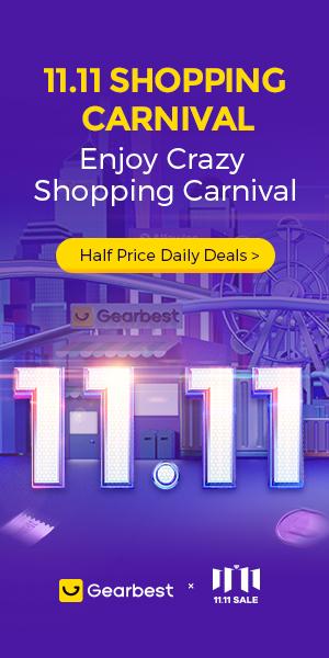 Gearbest Gearbest 11.11 Shopping Carnival promotion