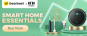 Gearbest SMART HOME ESSENTIALS promotion