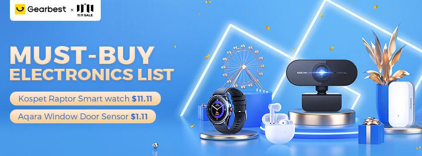 Gearbest Must Buy Electronics List promotion