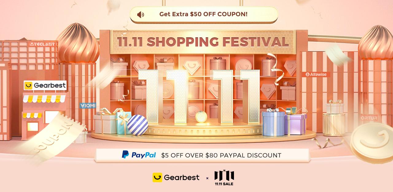 Gearbest Gearbest Activity-11.11 promotion