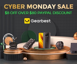 Gearbest Cyber Monday Sale promotion