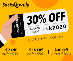 Gearbest 30% Commission: Sockslovely promotion