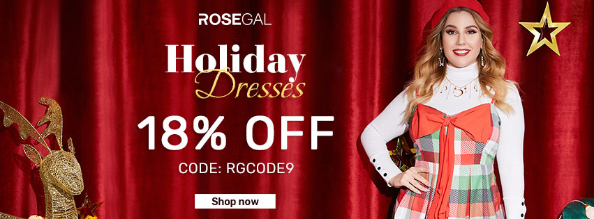 Holiday Dresses promotion