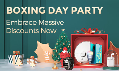 Gearbest Boxing Day Party promotion