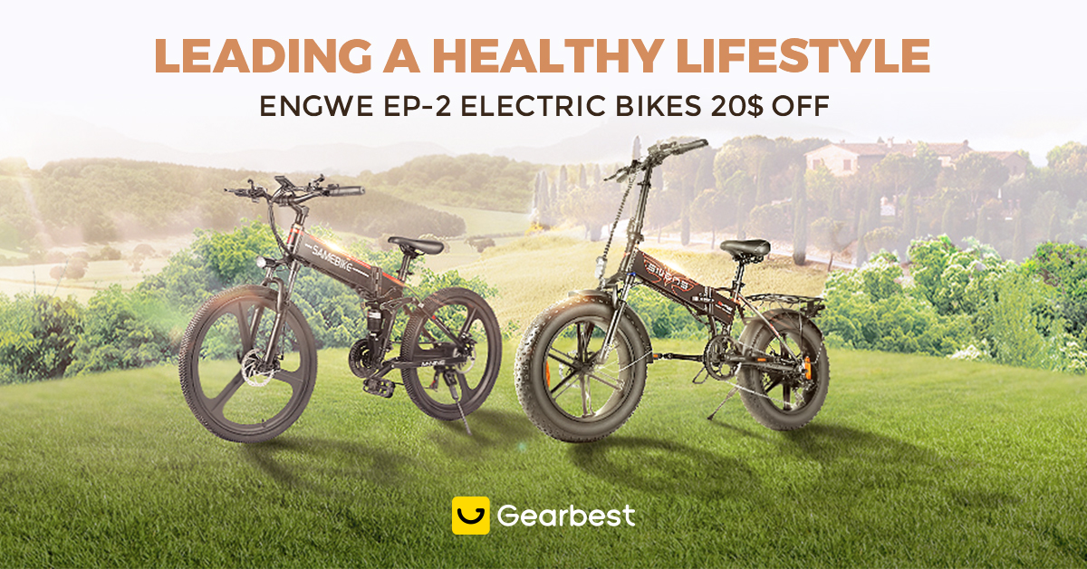 Gearbest Landing a healthy lifestyle promotion